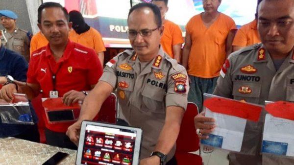 Sindikat Judi Online Surabaya Diringkus