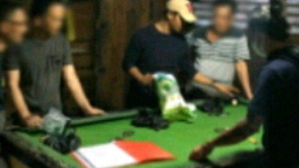 Main Judi Biliar, Tiga Pelaku Ditangkap Polres Kepulauan Meranti
